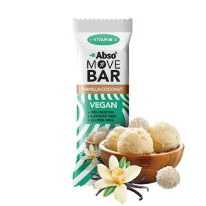 AbsoMOVE BAR - Vaníliás kókuszgolyó