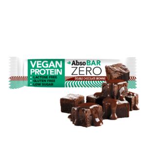 AbsoBAR ZERO 40g - Dupla csokoládés brownie