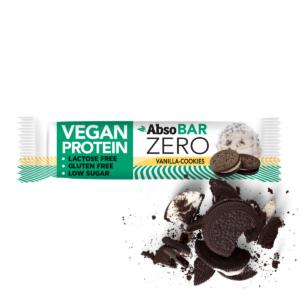 AbsoBAR ZERO 40g - Vanília keksz - vegán fehérjeszelet