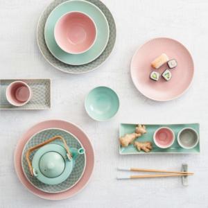 Hanami - Butlers pink 20 cm desszertes tányér