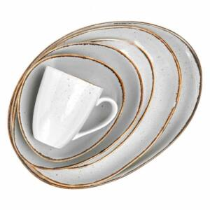 Márványszürke reggeliző tál - FINCA (Butlers) 390ml