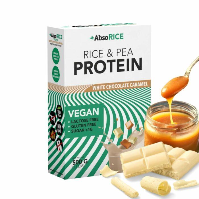 AbsoRICE protein Fehércsokoládé-karamell
